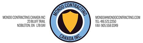Mondo Contracting Canada Logo